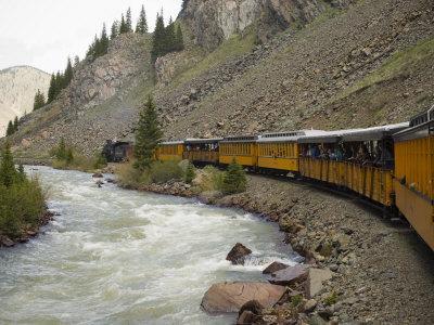 Durango and Silverton Train, Colorado, United States of America, North America