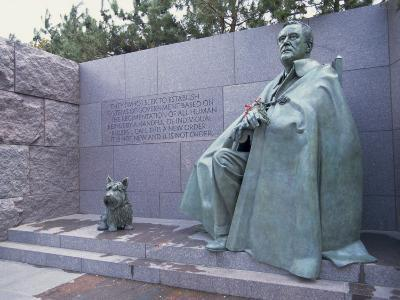 Memorial to Fdr, in Washington Dc, United States of America, North America