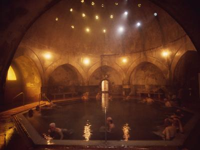 Kiraly Baths, Budapest, Hungary, Europe