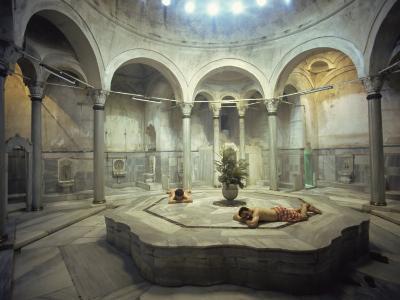 Turkish Bath, Cagaloglu Hamami, Istanbul, Turkey, Europe