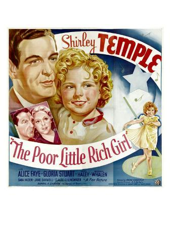 Poor Little Rich Girl, Michael Whalen, Shirley Temple, Jack Haley, Alice Faye, 1936