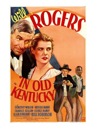 In Old Kentucky, Will Rogers, Dorothy Wilson, Charles Sellon, Bill Robinson,, 1935