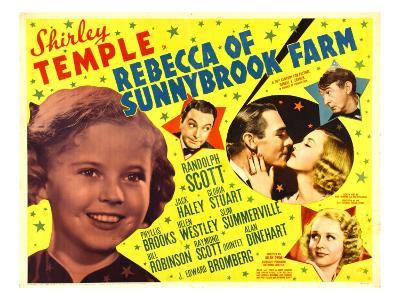 Rebecca of Sunnybrook Farm, Shirley Temple, Jack Haley, 1938