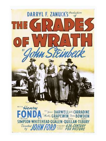The Grapes of Wrath, John Carradine, Dorris Bowdon, Henry Fonda, 1940