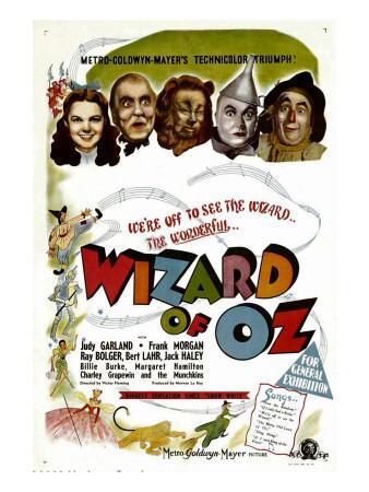 The Wizard of Oz, Judy Garland, Frank Morgan, 1939