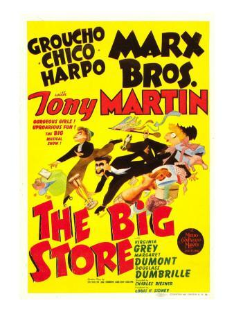 The Big Store, the Marx Brothers, 1941