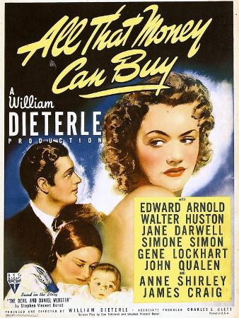 All That Money Can Buy (aka the Devil and Daniel Webster), James Craig, Anne Shirley, 1940