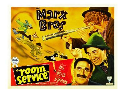 Room Service, Marx Brothers Left from Left: Chico Marx, Groucho Marx, Harpo Marx, 1938