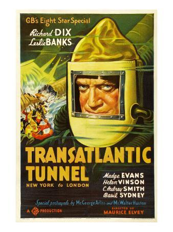 Transatlantic Tunnel (Aka the Tunnel), Richard Dix, 1935