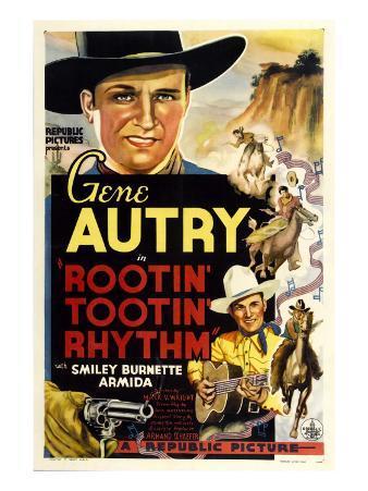Rootin' Tootin' Rhythm, Top and Bottom: Gene Autry, 1937