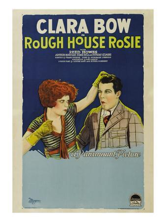 Rough House Rosie, Clara Bow, Reed Howes, 1927