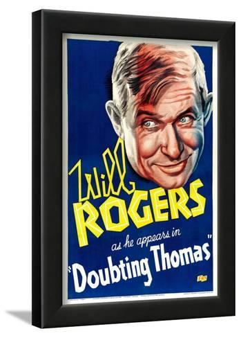 Doubting Thomas Will Rogers movie poster print