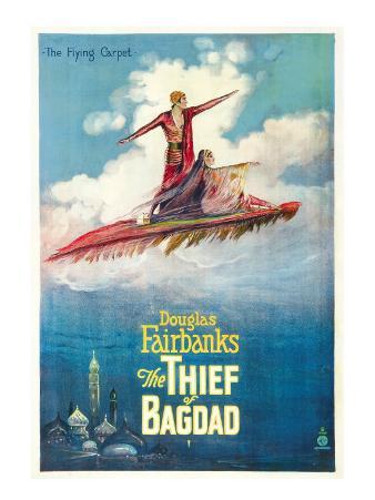 The Thief of Bagdad, Douglas Fairbanks, Sr., Julanne Johnson, 1924
