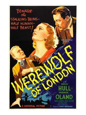 Werewolf of London, Henry Hull, Valerie Hobson, Warner Oland, 1935
