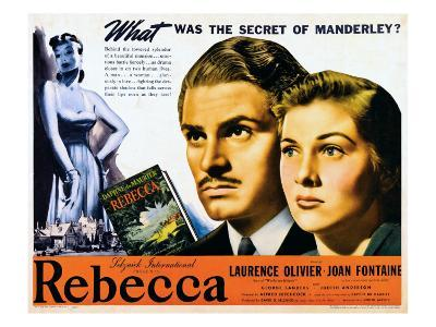 Rebecca, Laurence Olivier, Joan Fontaine, 1940