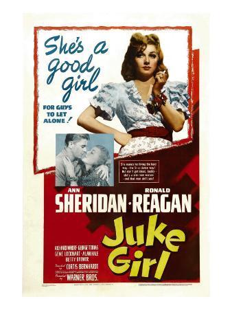 Juke Girl, Ronald Reagan, Ann Sheridan; Center: Ann Sheridan, 1942