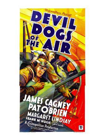 Devil Dogs of the Air, James Cagney, Pat O'Brien, 1935