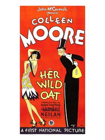 Her Wild Oat, 3-Sheet Poster, 1927, Flirtation