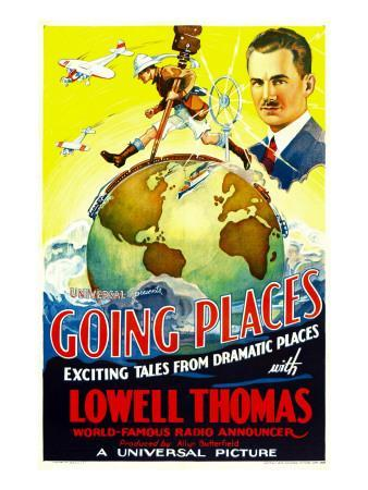 Going Places, Lowell Thomas, 1935