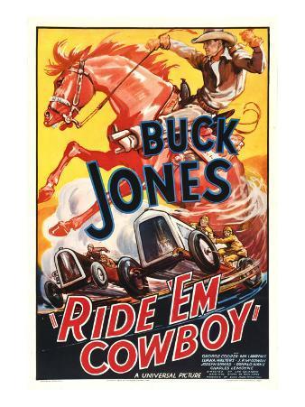 Ride 'Em Cowboy, Buck Jones, 1936