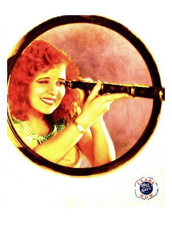 True to the Navy, Clara Bow on Jumbo Lobby Card, 1930