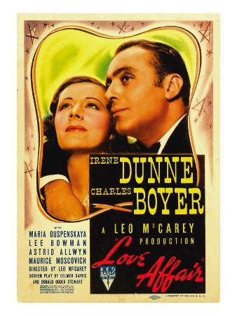 Love Affair, Irene Dunne, Charles Boyer, 1939