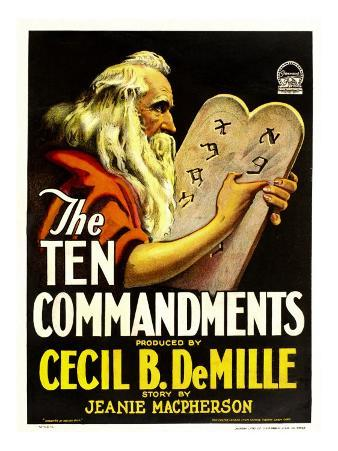 The Ten Commandments, Theodore Roberts, 1923