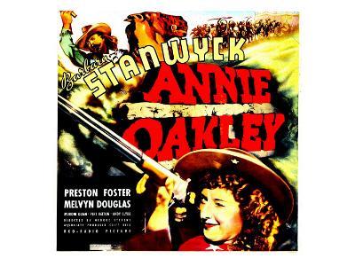 Annie Oakley, Moroni Olsen, 1935