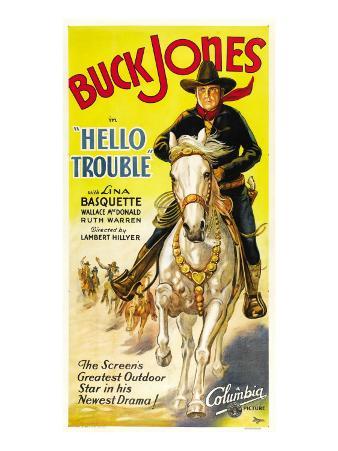 Hello Trouble, Buck Jones, 1932