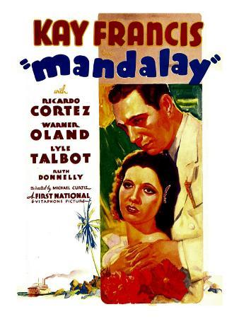 Mandalay, Kay Francis, Ricardo Cortez, 1934