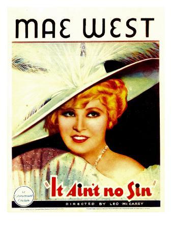 It Ain'T No Sin, Mae West, 1934