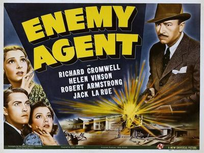 Enemy Agent, 1940