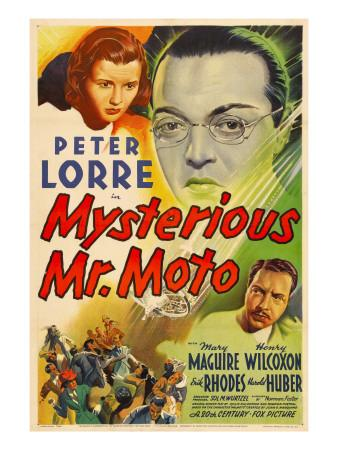 Mysterious Mr. Moto, Mary Maguire, Peter Lorre, Leon Ames, 1938