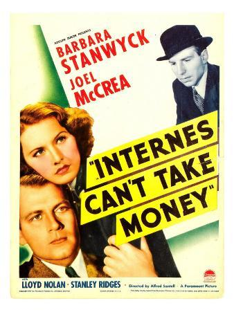 Internes Can'T Take Money, Barbara Stanwyck, Joel Mccrea, 1937