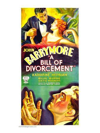 A Bill of Divorcement, John Barrymore, Katharine Hepburn, 1932