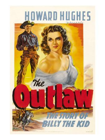 The Outlaw, Jack Buetel, Jane Russell, 1943