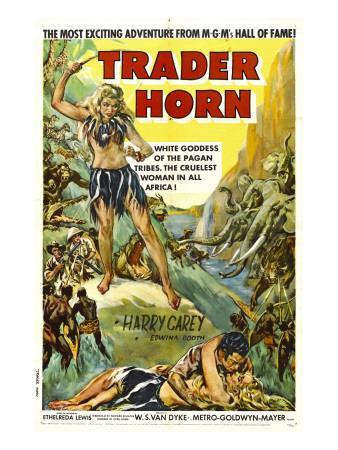 Trader Horn, Poster Art, 1931