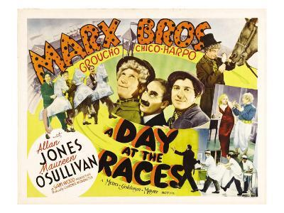 A Day at the Races, Harpo Marx, Groucho Marx, Chico Marx, 1937