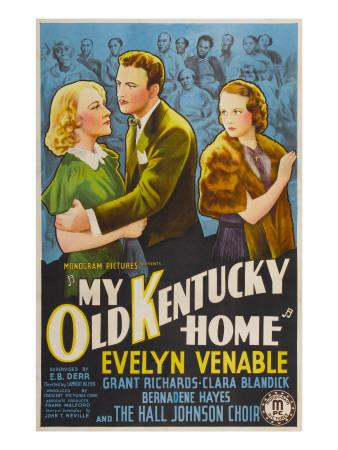 My Old Kentucky Home, Clara Blandick, Grant Richards, Evelyn Venable, 1938