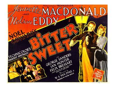Bitter Sweet, Nelson Eddy, Jeanette Macdonald, 1940
