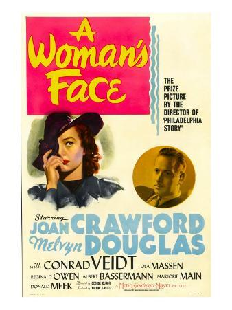 A Woman's Face, Joan Crawford, Melvyn Douglas, 1941