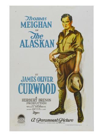 The Alaskan, Style 'A' Poster Featuring Thomas Meighan, 1924