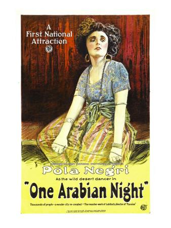 One Arabian Night, (Aka Sumurun), Pola Negri, 1920