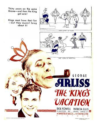 The King's Vacation, 1933