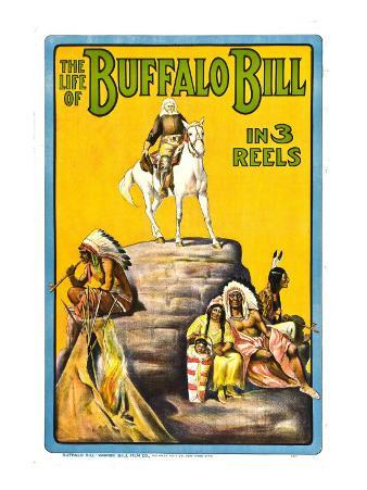 Life of Buffalo Bill, Early Documentary of the Legendary Westerner, 1912