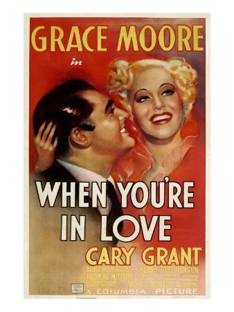 When You'Re in Love, Cary Grant, Grace Moore, 1937