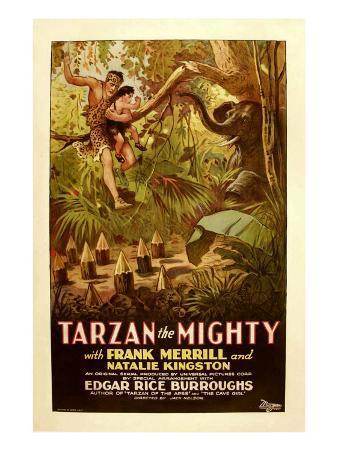 Tarzan the Mighty, Frank Merrill, 1928