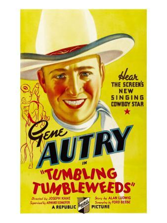 Tumbling Tumbleweeds, Gene Autry, 1935