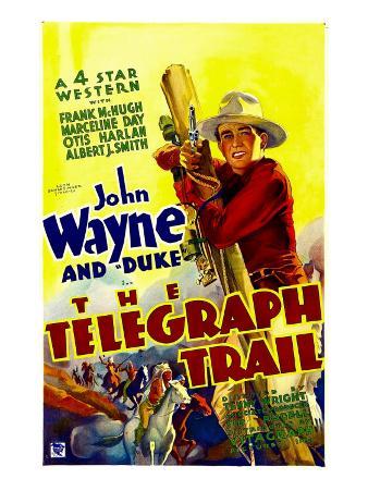 Telegraph Trail, John Wayne (Climbing Telegraph Pole), 1933