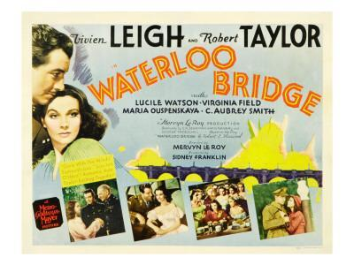 Waterloo Bridge, Robert Taylor, Vivien Leigh, 1940